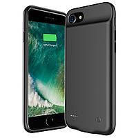 Чехол аккумулятор AmaCase для iPhone 6 Plus/6s Plus Черный (4000 мАч)