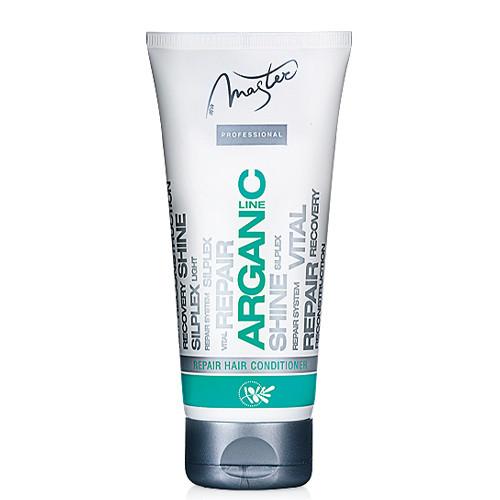 Восстанавливающий бальзам для волос с аргановым маслом 200 мл Spa Master Arganic Line SM 102