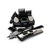 Беспроводная аккумуляторная машинка для стрижки волос триммер с насадками Gemei GM-592 10 в 1, фото 3