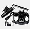 Беспроводная аккумуляторная машинка для стрижки волос триммер с насадками Gemei GM-592 10 в 1, фото 5