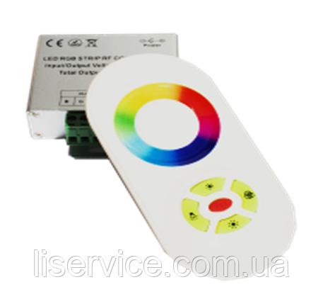 Kонтроллер с пультом для светодиодных лент RGB, 5 кнопок,  216 W, 18А, фото 2