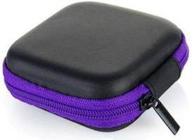 Чехол для наушников Mini Black/Violet