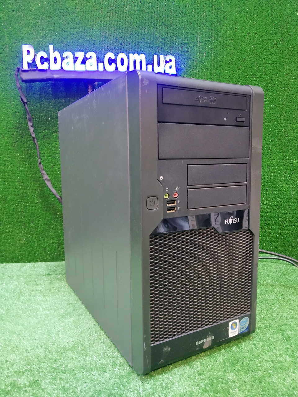Компьютер Fujitsu, Intel 2 мощных ядра E8400 3.0Ггц, 4 ГБ, 160 ГБ Настроен! Есть Опт! Гарантия!