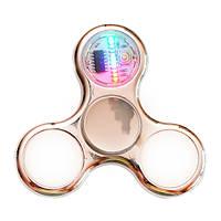 Спиннер Spinner пластиковый с LED подсветкой Золото №107