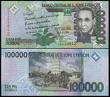 САН-ТОМЕ І ПРІНСІПІ. 100000 добра 2013р. UNC