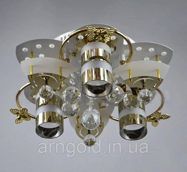 Люстра LED Космос 5-70013/3 D400WT-GD