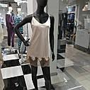 Сорочка нічна жіноча, IBIZA, бежевий, ТМ Komilfo, Україна Xl, M,L, фото 2