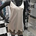 Сорочка нічна жіноча, IBIZA, бежевий, ТМ Komilfo, Україна Xl, M,L, фото 5