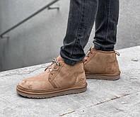 Ботинки мужские UGG Neumel PA53 коричневые
