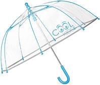 Зонт детский для мальчика 42/8, голубой край COOL KIDS, 15532
