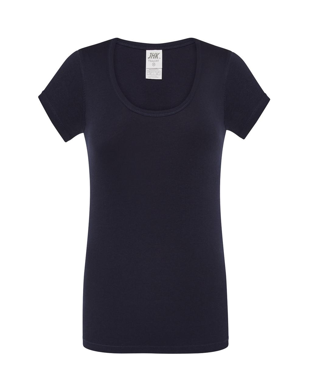 Женская футболка JHK CRETA цвет темно-синий (NY)