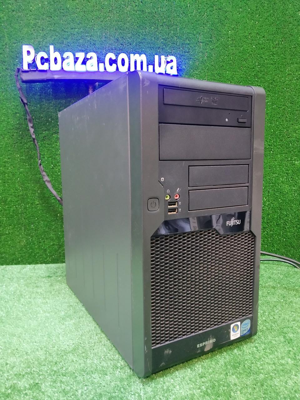 Игровой ПК Fujitsu, Intel 2 мощных ядра E8400 3.0 Ггц, 4 ГБ, 500 ГБ, Quadro 2000 1 GB (GTS 450)