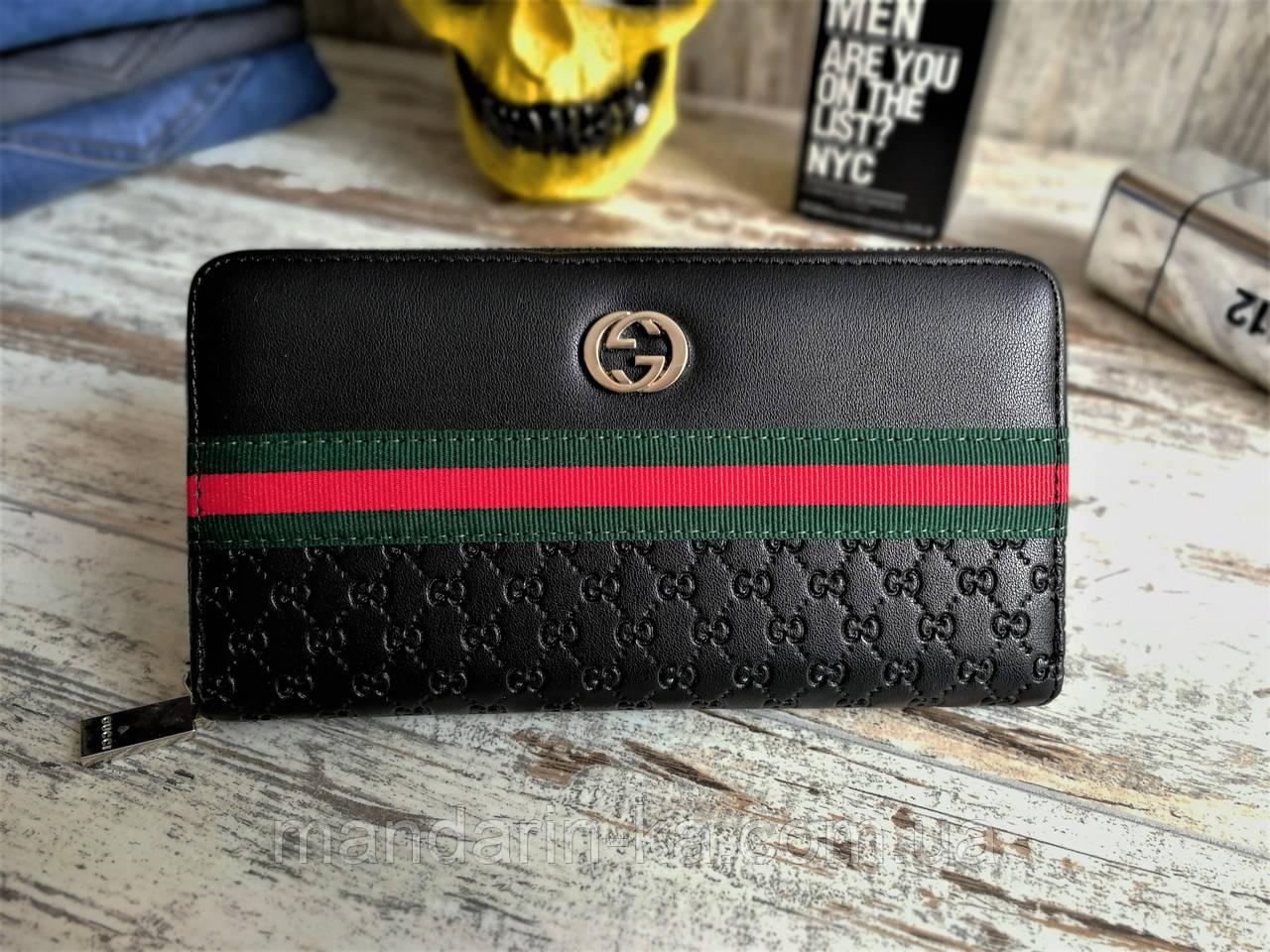 Портмоне клатч  кошелек мужской  брендовый черный