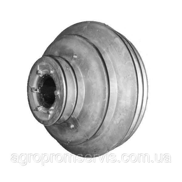 Шкив главного контрпривода комбайна СК-5 НИВА 54-2-167А (алюминиевый) (5-ти ручьевой)