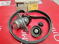 Комплект ремня генератора (+2 ролика) (-AC) Renault Master 3 M9R/M9T  (Original) -117209956R