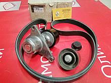 Комплект ремня генератора (+2 ролика) (-AC) Renault Trafic 2 M9R/M9T (Original) -117209956R