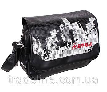 Сумка мужская Spy Walk Sport30311313 Черная