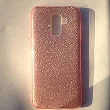 Чехол для Samsung J8 2018 Dream Pink