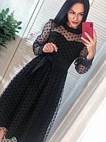 Платье и сетки в горошек, фото 1