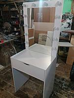 Стол для макияжа для небольших помещений, ширина 700мм А232