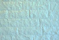 """Плитка руст из мрамора """"ОСТРОВ TASOS"""" WHITE"""" 7xL см KLVIV  (0.34м.кв)"""