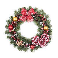"""Рождественский венок """"Лесная сказка"""" 46см"""