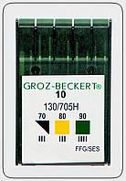 Иглы бытовые Groz-beckert ассорти №70,№80,№90.
