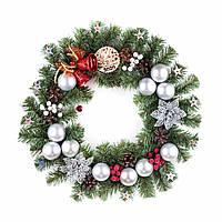 """Рождественский венок """".Новогоднее чудо"""" 46см"""