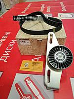Комплект ремня генератора (+1 ролик) (-AC, PS) Renault Sandero 1.4/1.6 K7J/K7M (Original 117201773R)