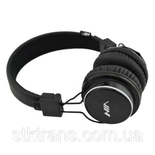 Беспроводные Bluetooth наушники с MP3 плеером NIA-Q8 Черные (45405)