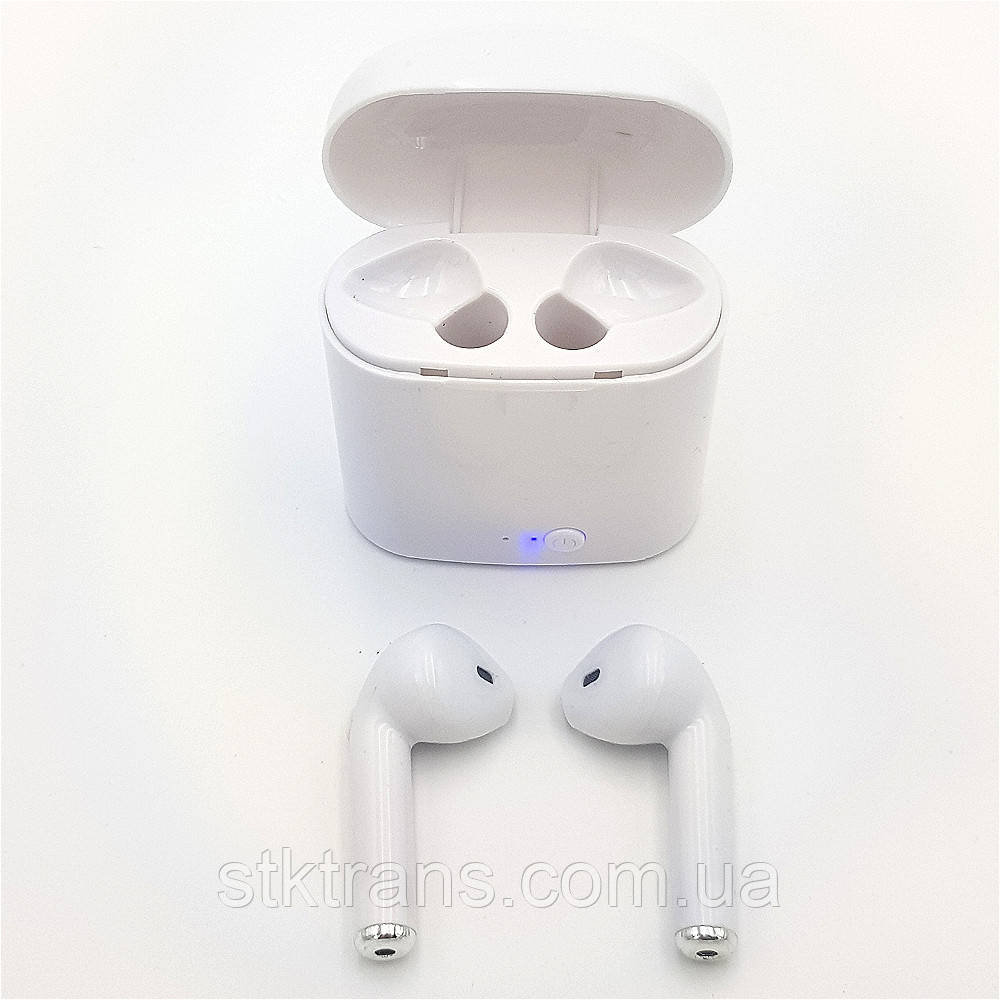 Беспроводные наушники HBQ  iX i7 TWS Белые (hub_DSyL58236)