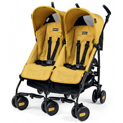 Прогулочная коляска для двойни Peg Perego Pliko Mini Twin, фото 2