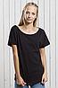 Женская футболка JHK TRINIDAD цвет черный (BK), фото 2