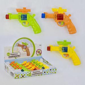Пистолеты пулевые, музыкальные, трещетки