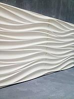 Гипсовые 3d панели для стен Поток