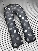 U-образная Подушка для беременных мам Apple