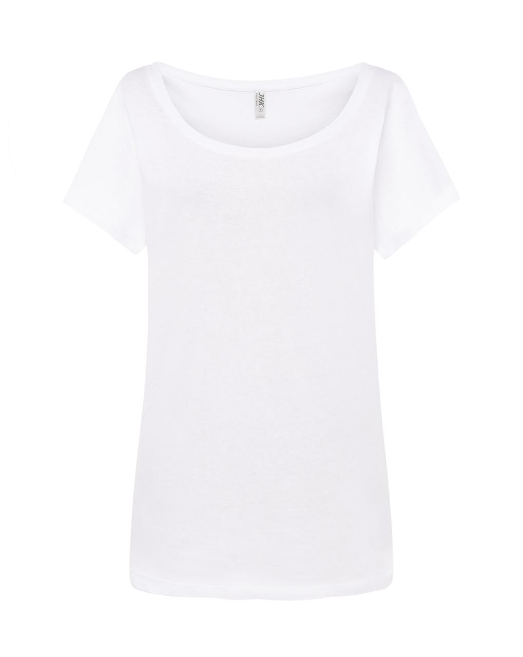 Женская футболка JHK TRINIDAD цвет белый (WH)