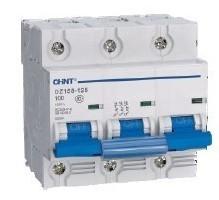 Автоматический выключатель DZ158-125 3P 6kA 63A