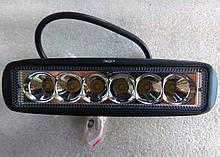 Фара светодиодная дальнего света  07-18w SPOT 12, 24v