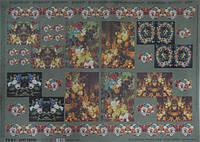 Декупажная карта-бумага 50*70см 98693 Цветочный натюрморт