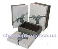 Красивые подарочные коробки набор 3шт 22,5х16х10,5 см