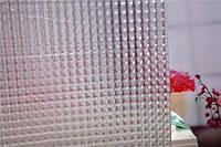 Штора для ванной силиконовая 3Д эффект прозрачная