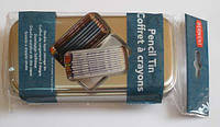 Пенал для карандашей DERWENT метал. двухуровневый (33ол-d9мм або 42ол-d8мм) D-2300582