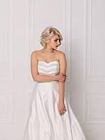 Свадебное платье с пышной юбкой и бисером, фото 6
