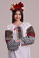 Сорочка вишита жіноча.Вишиванка жіноча МВ-111
