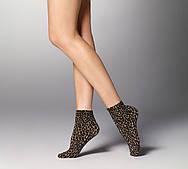 Жіночі шкарпетки Veneziana Leopardo (леопард)