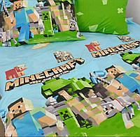 Комплект детского постельного белья подростковый Майнкрафт