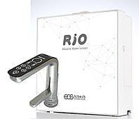 Ионизатор воды RIO c 9-ю титано-платиновыми пластинами, проточный, под раковину, Корея