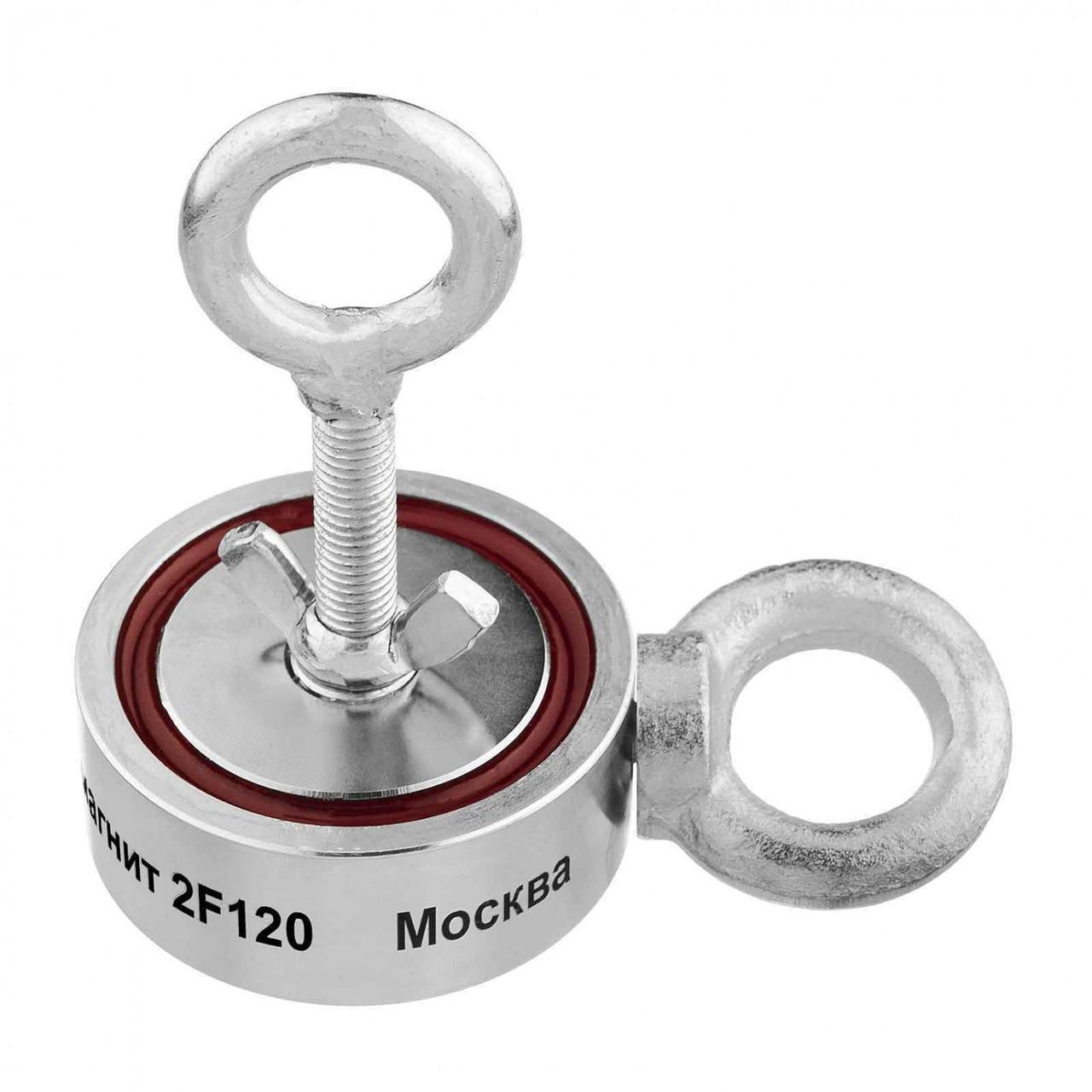 Двусторонний поисковый магнит НЕПРА 2F120