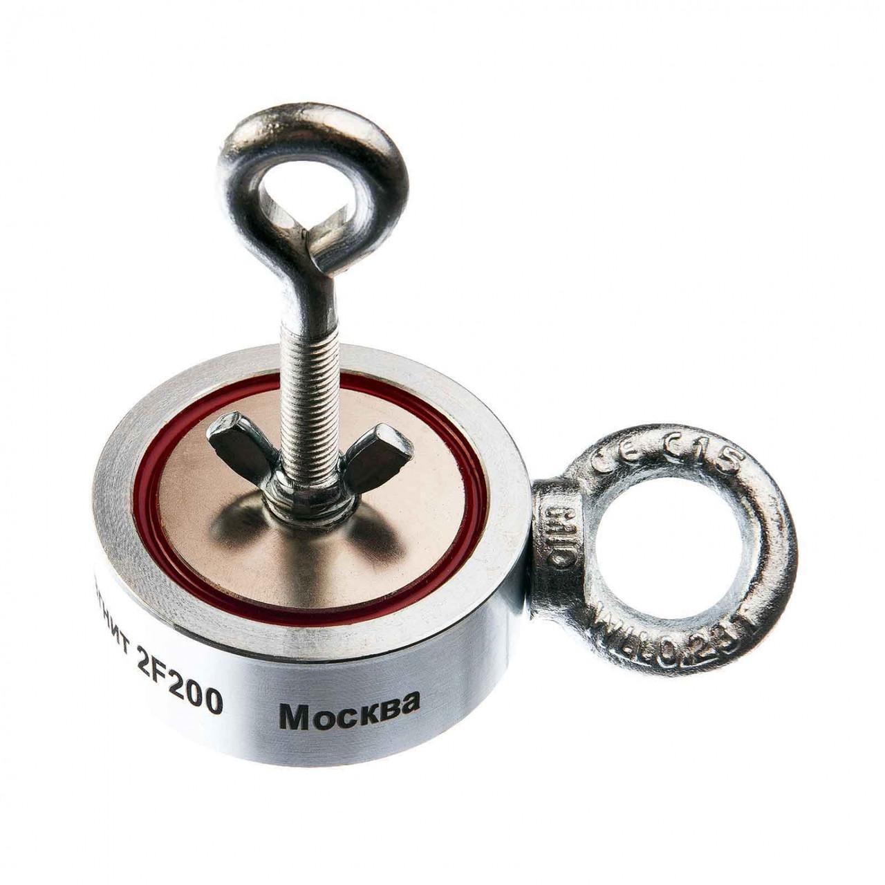 Двусторонний поисковый магнит НЕПРА 2F200